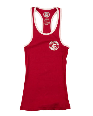 Canucks Womens Gertex Tank Top (Pink) - Vanbase f6398e1fc