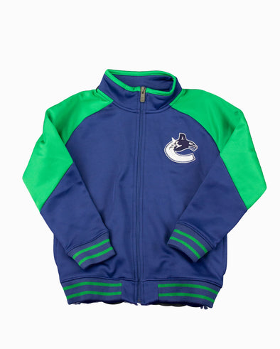 Vancouver Canucks Kids Faceoff Fullzip Jacket - Vanbase