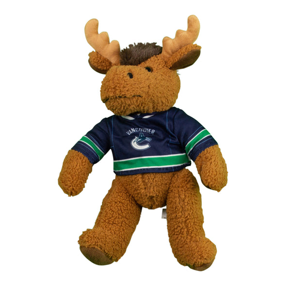 "Vancouver Canucks 10"" Moose in Canucks Jersey - Vanbase"