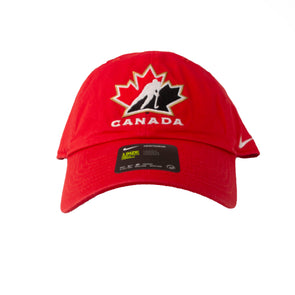 Team Canada Logo Adjustable Hat - Vanbase
