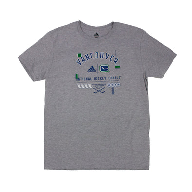 Vancouver Canucks Adidas Mens Amplifier Tee