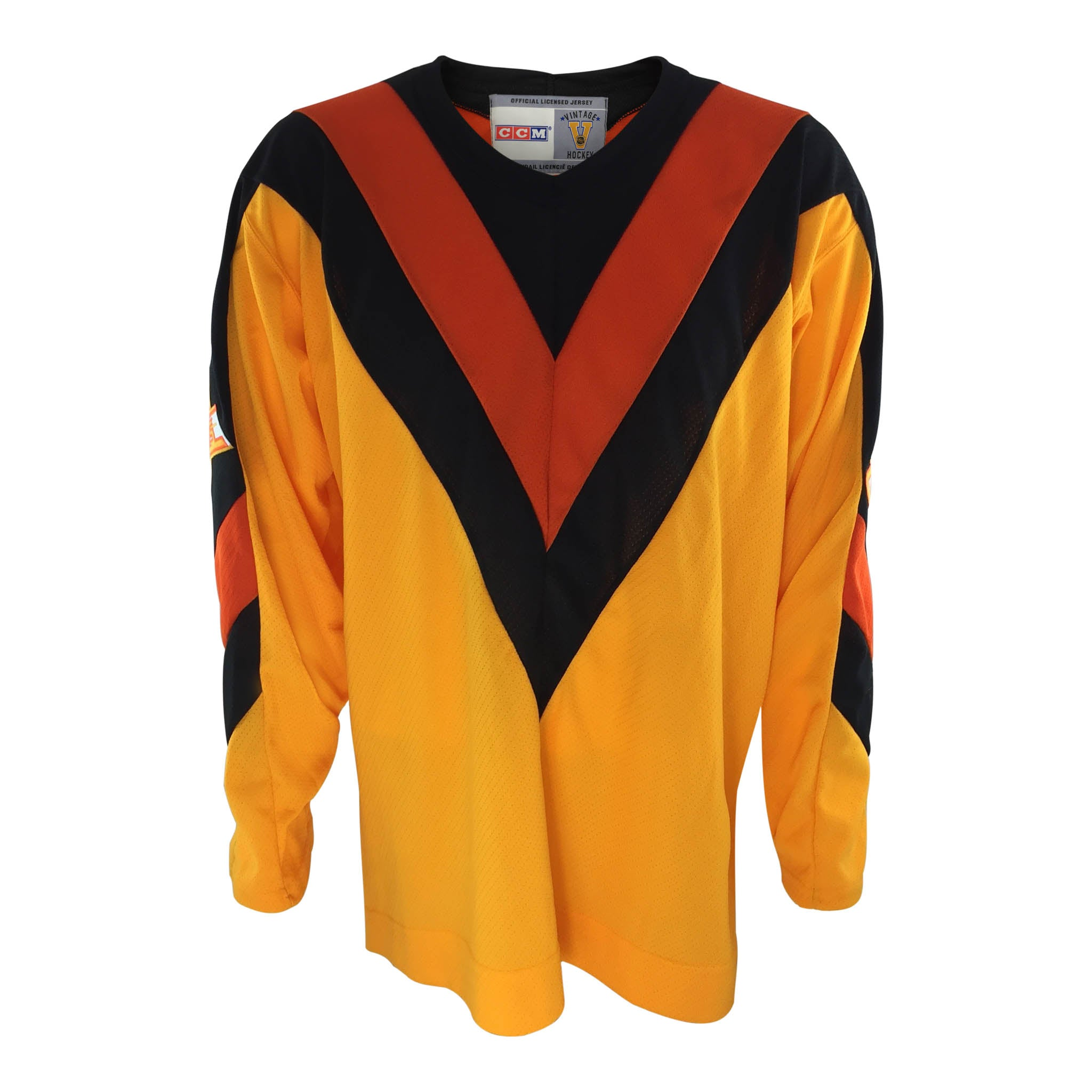 0c4861a59 ... closeout vancouver canucks vintage yellow jersey a5178 58065 ...