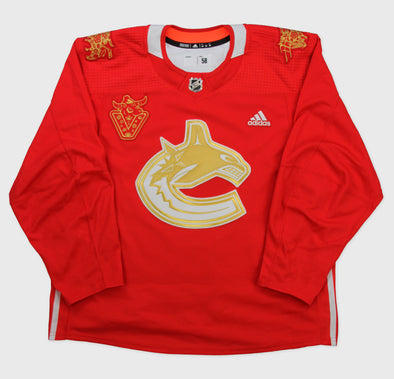 Holtby Lunar New Year 'Ox' Signed Player Worn Warm-Up Jersey