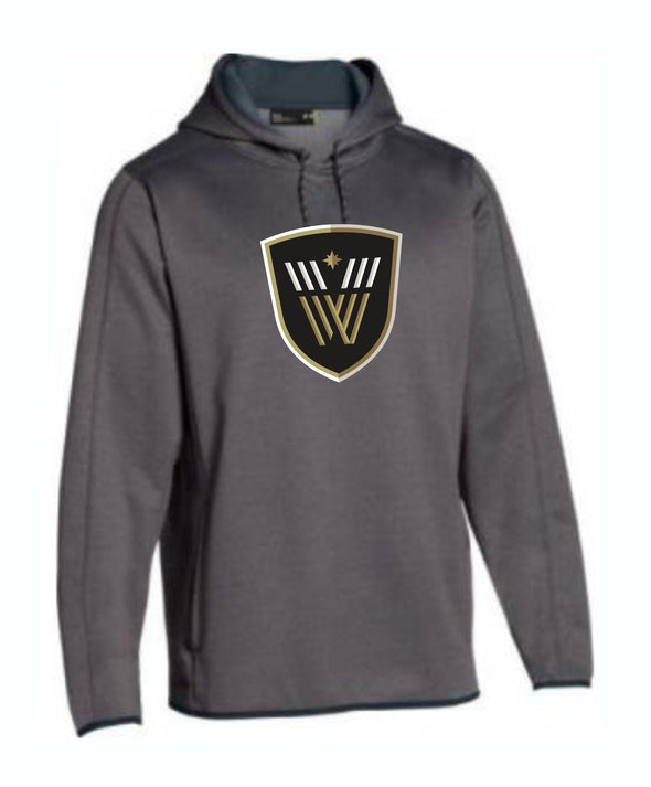 Vancouver Warriors Under Armour Double Threat Fleece Hoodie - Vanbase