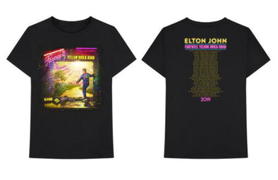 Elton John Neon Tour T-Shirt (Black)