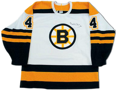 separation shoes cbfea 85cc6 Bobby Orr Boston Bruins Autographed White Retro CCM Hockey Jersey: GNR COA