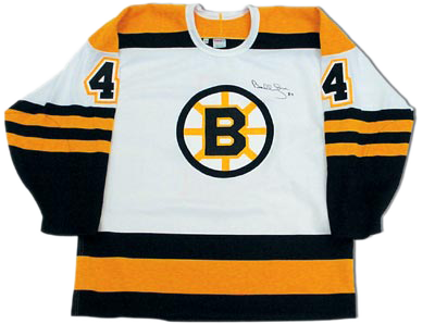 ce5caad89 Bobby Orr Boston Bruins Autographed White Retro CCM Hockey Jersey: GNR COA