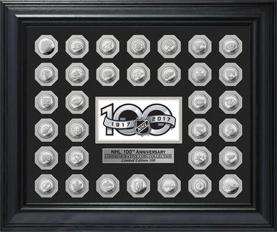 NHL 100th Season Silver Coin - Vanbase