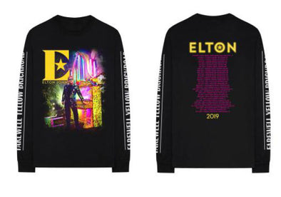 Elton John Piano Tour Long Sleeve