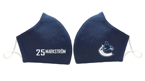 Vancouver Canucks MARKSTROM 25 Face Mask