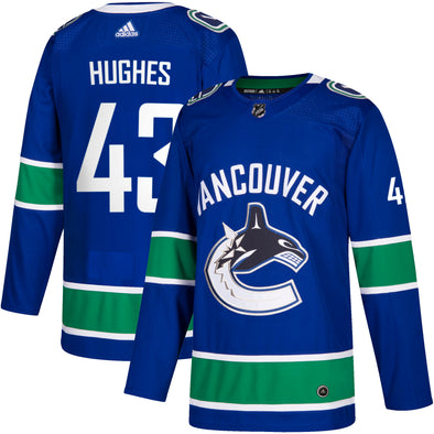 Vancouver Canucks Q. Hughes Jersey