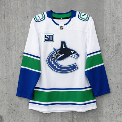 Vancouver Canucks Adidas Pro Blank Away Jersey