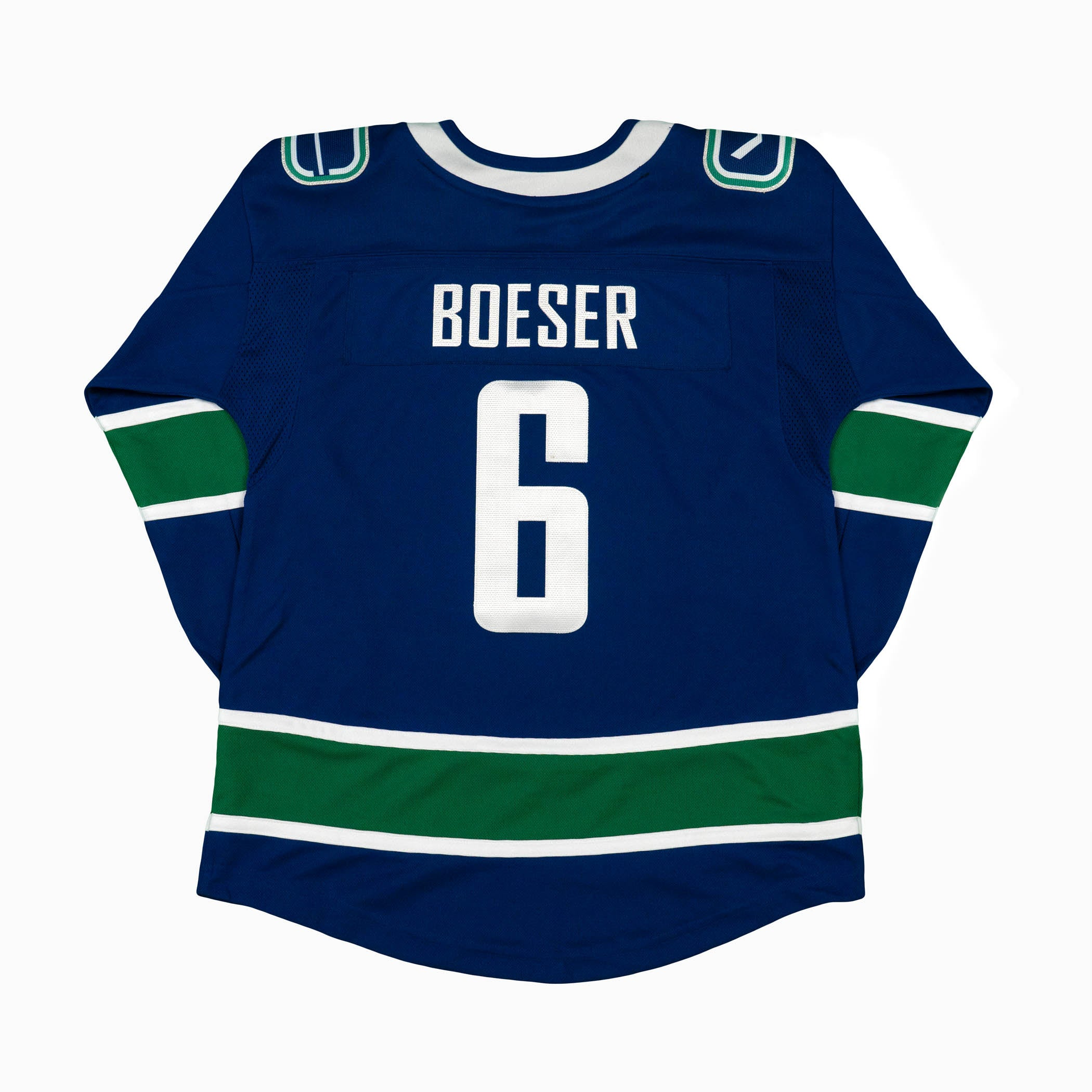 low priced f37b5 b8231 Vancouver Canucks Brock Boeser Youth Home Jersey | Vanbase