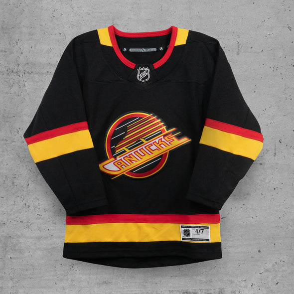 Vancouver Canucks Child Name & Number Skate Jersey