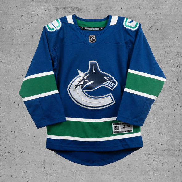 Vancouver Canucks Youth Home Jersey
