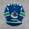 Vancouver Canucks Youth Name & Number Home Jersey