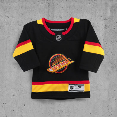 Vancouver Canucks Infant Skate Name and Number Jersey