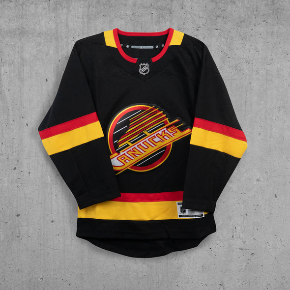 Vancouver Canucks Youth Name & Number Skate Jersey