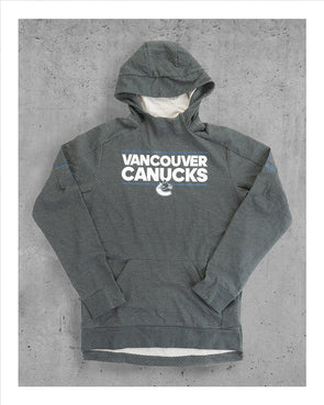 Vancouver Canucks Mens Adidas Orca Squad Hoodie