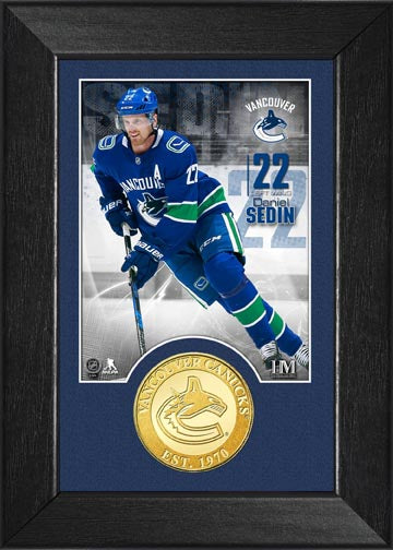 Canucks Daniel Sedin Photo Mint - Vanbase