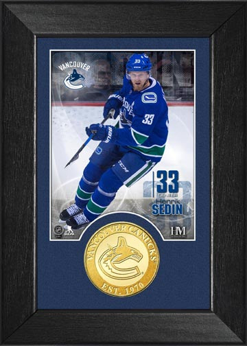 Canucks Henrik Sedin Photo Mint - Vanbase