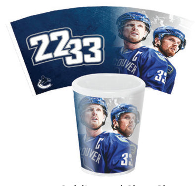 Daniel & Henrik Sedin Shot Glass