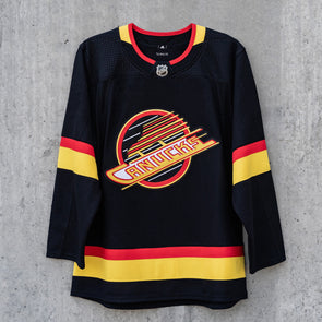 Vancouver Canucks Adidas Pro Blank Black Skate Jersey (Pre-Order)