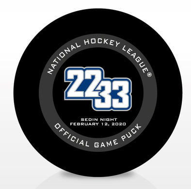 22 & 33 Official Cubed Game Puck