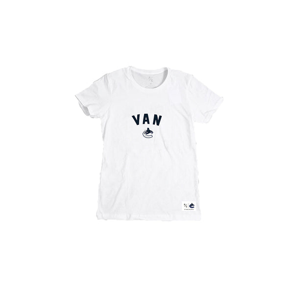 Vancouver Canucks Peace Collective Ladies Van T-Shirt