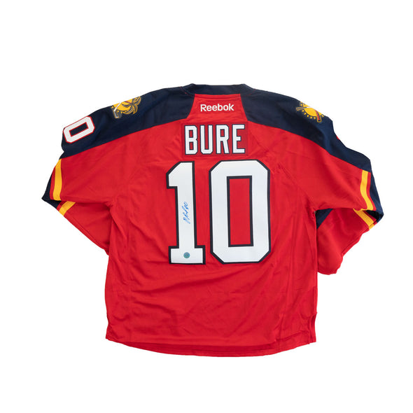 Pavel Bure Signed Panthers Jersey
