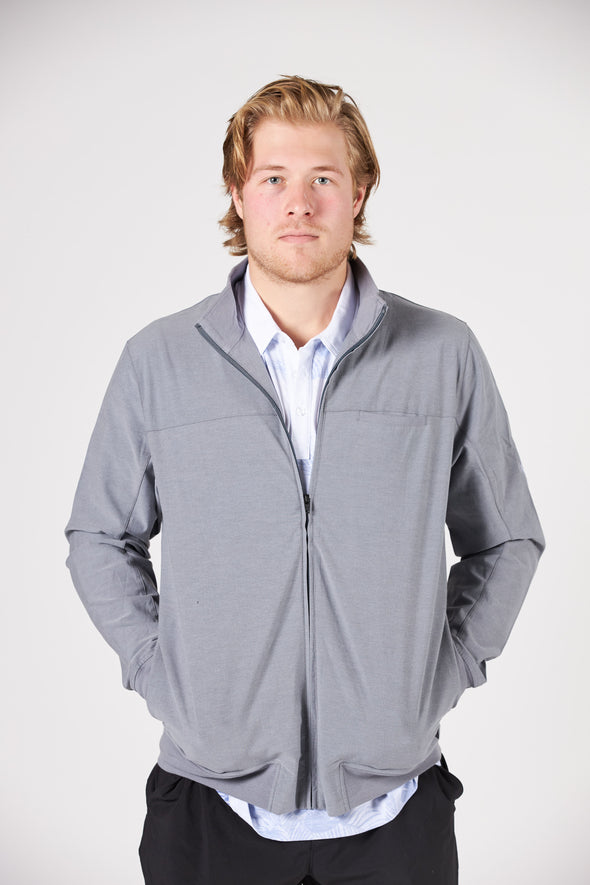 Vancouver Canucks Mens TravisMathew Hooligan Orca Jacket