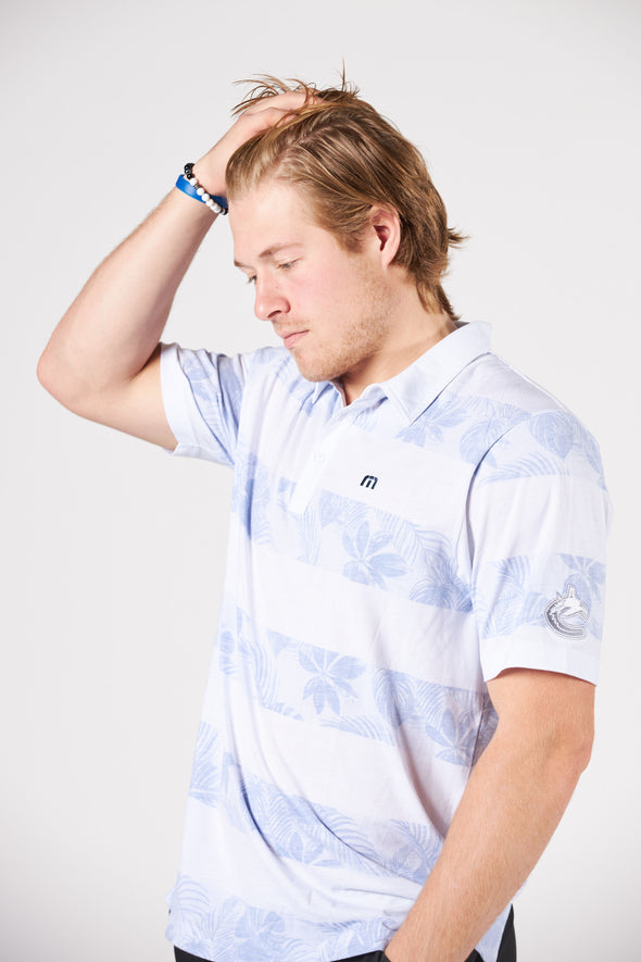 Vancouver Canucks Mens TravisMathew Frosty Orca Polo