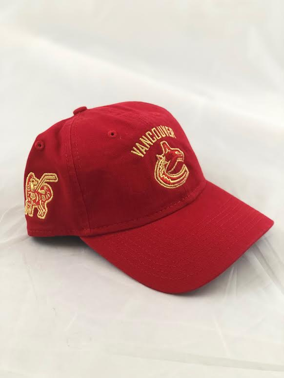 Vancouver Canucks Lunar New Year Orca Hat