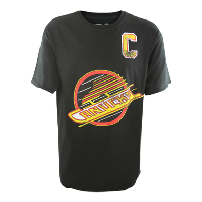 Vancouver Canucks Old Time Hockey Linden Tee