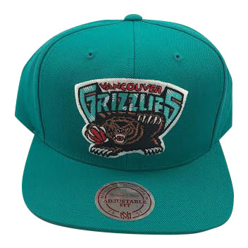 NBA Vancouver Grizzlies Mitchell & Ness Wool Solid Snapback - Vanbase
