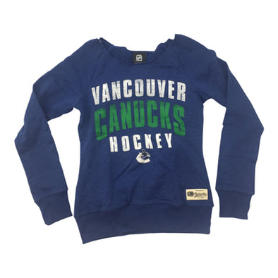Vancouver Canucks Youth Outer Wide RCVR Long Sleeve - Vanbase