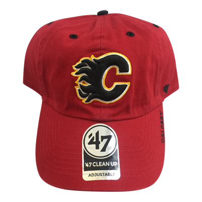 Calgary Flames 47 Clean Up Hat - Vanbase