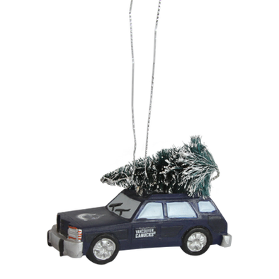 Vancouver Canucks Forever Station Wagon Ornament - Vanbase