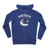 Vancouver Canucks Youth Banner Gameday Fullzip Blue - Vanbase