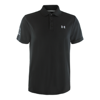 Vancouver Canucks Performance Black Polo - Vanbase