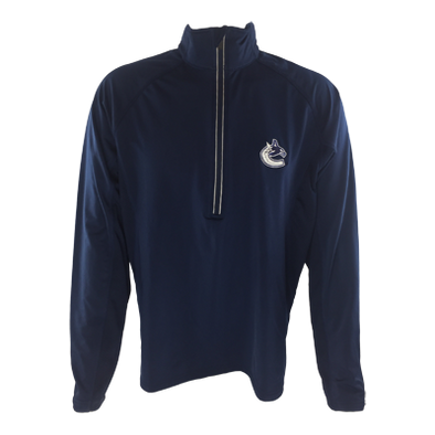 Vancouver Canucks Men's Vulcan Tape 1/4 Zip