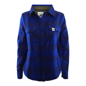 Vancouver Canucks Womens Johnny Plaid Jacket - Vanbase