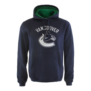 Vancouver Canucks Orca Playbook Hoody Navy - Vanbase