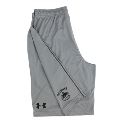 Vancouver Canucks Tech Graphic Grey Shorts