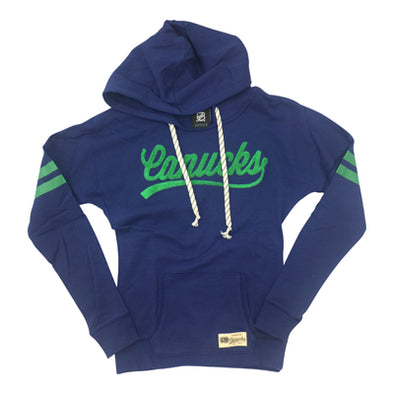 Vancouver Canucks Youth Outer Varsity Pullover Hood - Vanbase