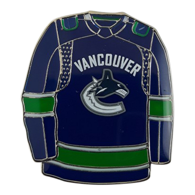Vancouver Canucks JF Jersey Pin Home - Vanbase