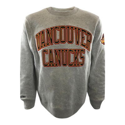 Vancouver Canucks Mitchell & Ness Playoff Win Skate Crew - Vanbase