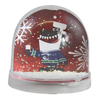 Vancouver Canucks Snow Globe Christmas