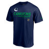 Vancouver Canucks Fanatics Special Edition Locker Room Tee