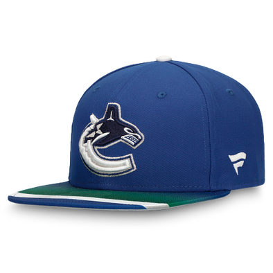 Vancouver Canucks Fanatics Special Edition Locker Room Snapback Hat